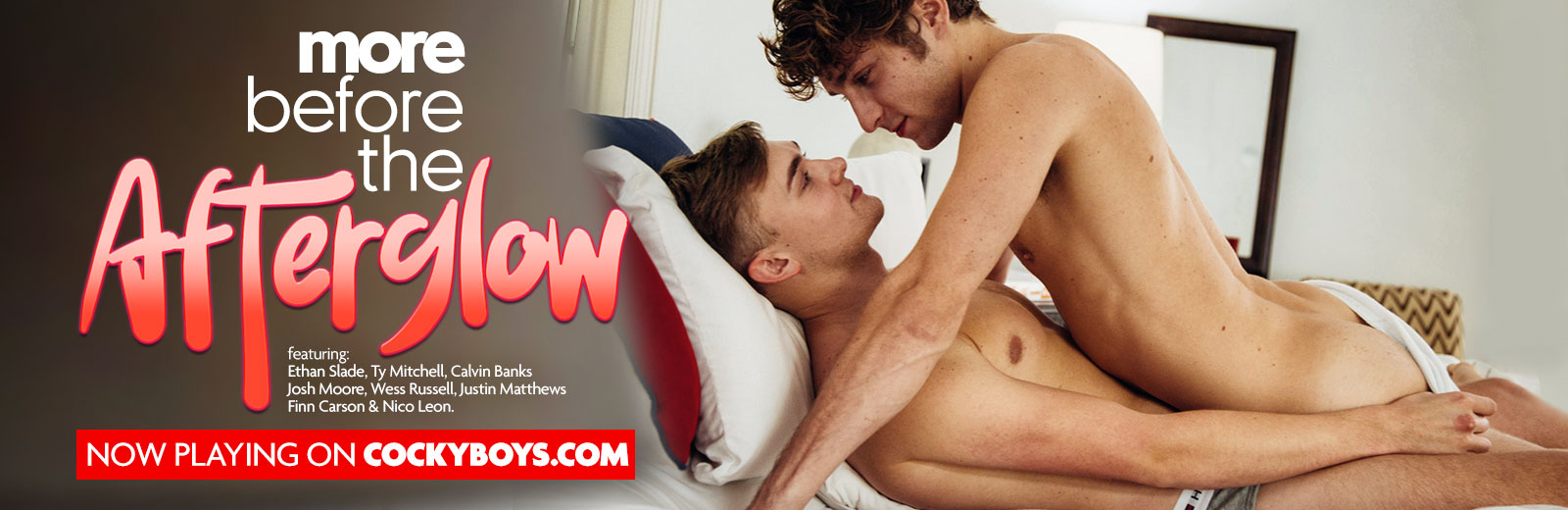 CockyBoys - More Before the Afterglow - Calvin Banks & Finn Carson