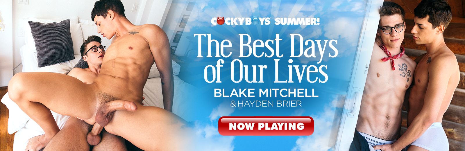 CockyBoys - The Best Days of Our Live - Blake Mitchell & Hayden Brier