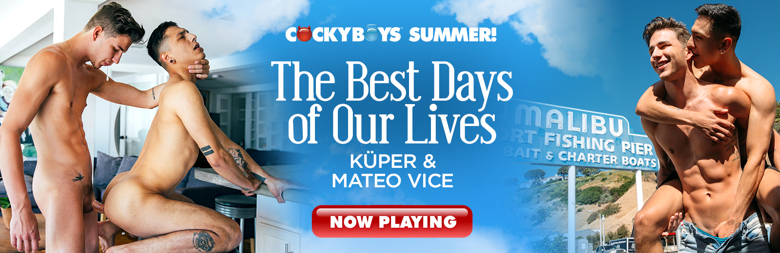 CockyBoys - The Best Days of Our Live - Kuper & Mateo Vice