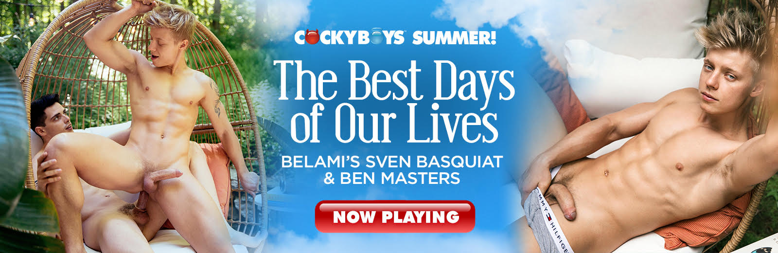 CockyBoys - The Best Days of Our Live - Sven Basquiat & Ben Masters