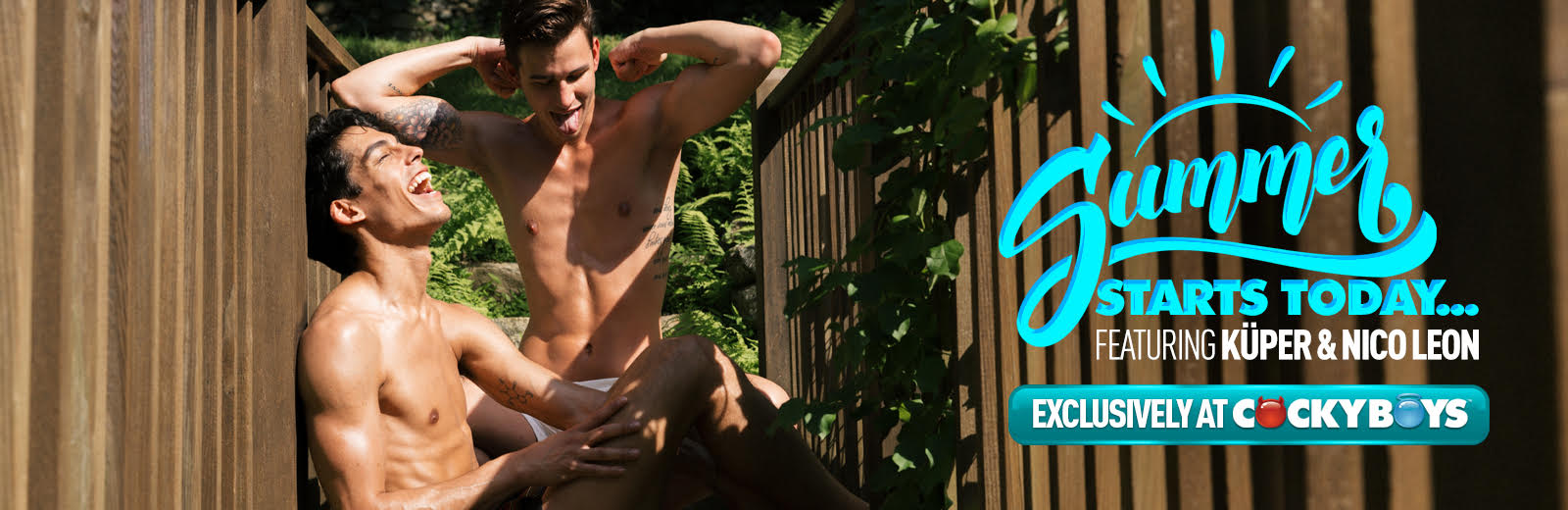 CockyBoys - Summer Starts Today - Kuper & Nico Leon