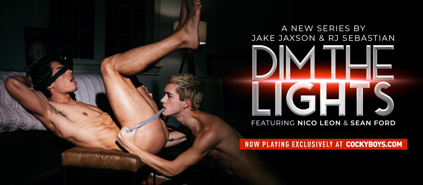 CockyBoys - Dim The Lights - Nico Leon & Sean Ford