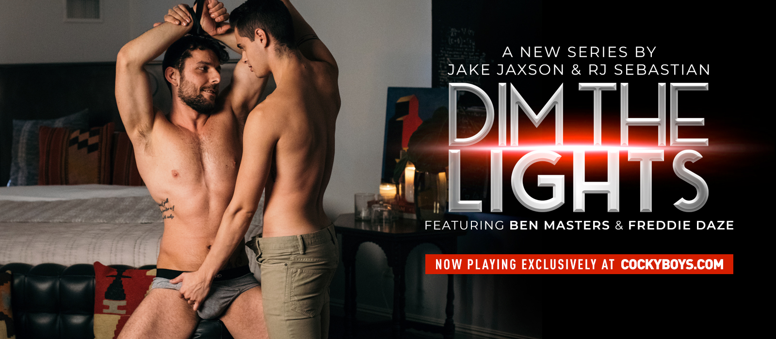 CockyBoys - Dim The Lights - Ben Masters & Freddie Daze