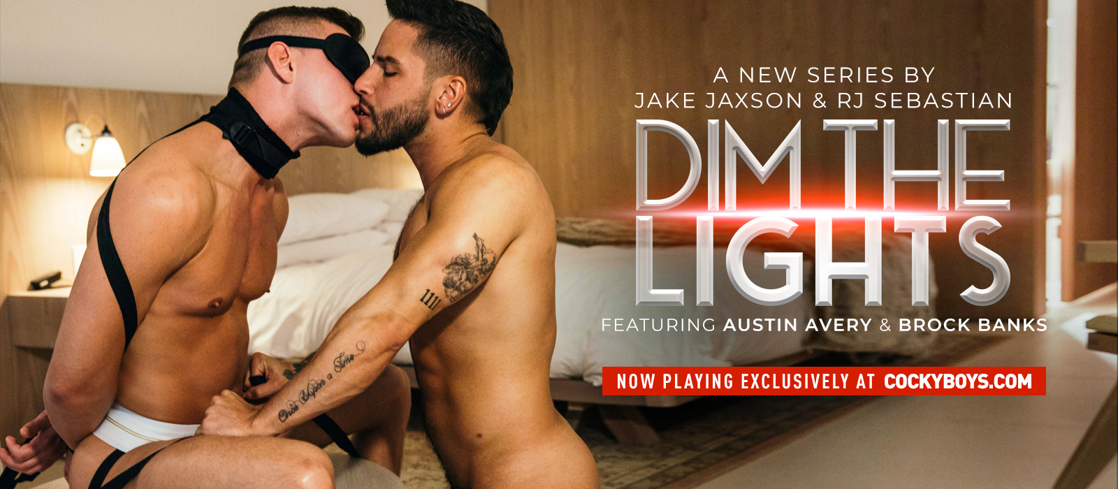 CockyBoys - Dim The Lights - Austin Avery & Brock Banks